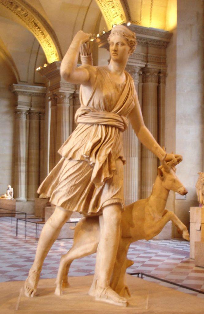 nữ thần artemis