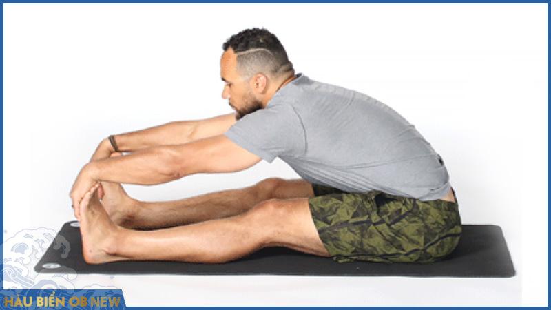 bài tập rối loạn cương dương yoga Paschimottanasana