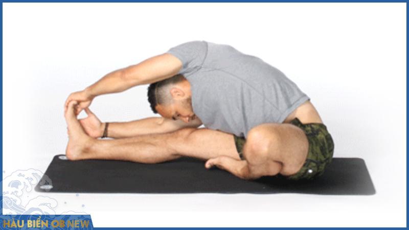 bài tập chữa rối loạn cương dương yoga Janu Sirsasana
